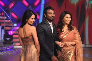 Malaika Arora, Remo and Madhuri Dixit-Nene on sets of Jhalak Dikhla Jaa