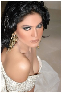 Veena Malik strikes a pose