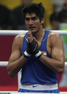Indian Olympic contender Vijender Singh explains his new boxing strategy