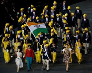 The Indian Contingent at the Olympics