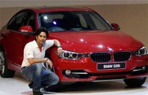 Sachin Tendual - Brand ambassador for BMW