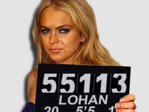 Lindsay Lohan arrested for leaving the scene of a crime